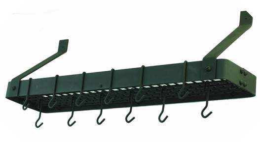 10 Reasons To Add A Wall Mount Pot Rack For Storage Us15