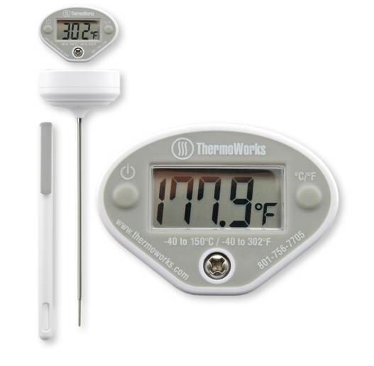 thermoworks digital kitchen instant read thermometer
