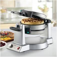 waring pro double Belgian waffle maker