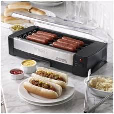 waring pro hot dog roller machine