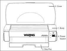 waring pro hdg150