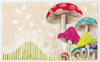 Mushrooms Kitchen Rug