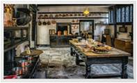 Vintage Kitchen Rug