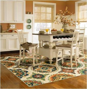 benefits of choosing a washable kitchen throw rug
