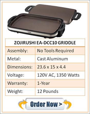 Zojirushi EA-DCC10 Griddle
