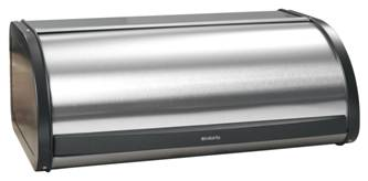 Brabantia Roll Top Stainless Steel Bread Box