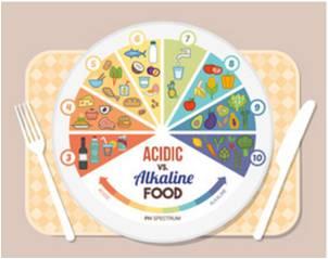 Acidic Alkaline Foods
