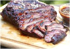 BBQ Sauced Smoked Brisket
