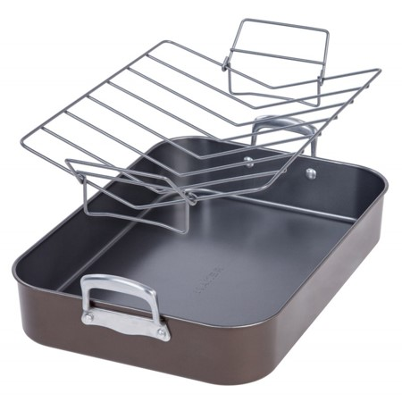 MAKER Homeware Oven Roasting Pan with Rack