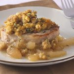 Pork Medallions Apples Stuffing Casserole