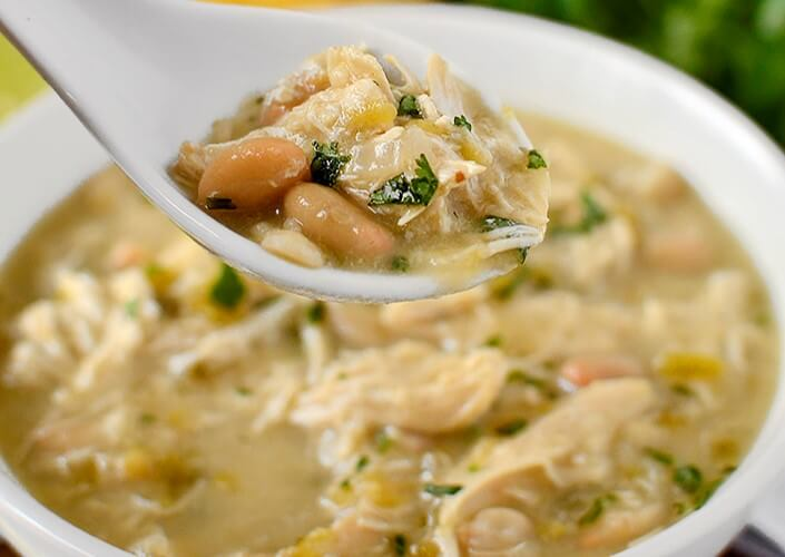 White Chicken Chili Cook-Off Recipe